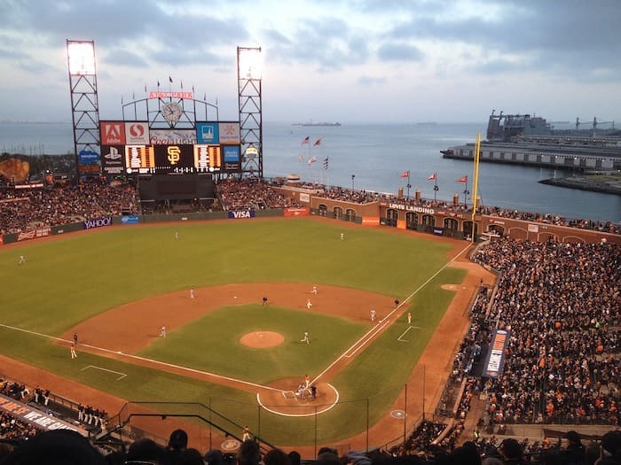 Oracle Park, non-touristy things to do in san francisco
